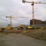 JVA - Baustand am 12.12.2010