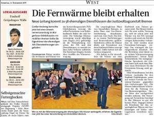 Weser-Report vom 04.12.2012