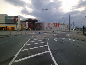 Querungssituation Waterfront nach dem Umbau im Mai 2013