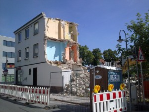 Abriss Eckhaus Gröpelinger Herrstr / Bersestraße