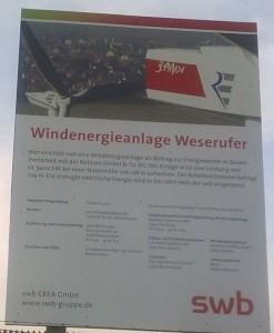 WKA 3,4 MW Weserufer 2