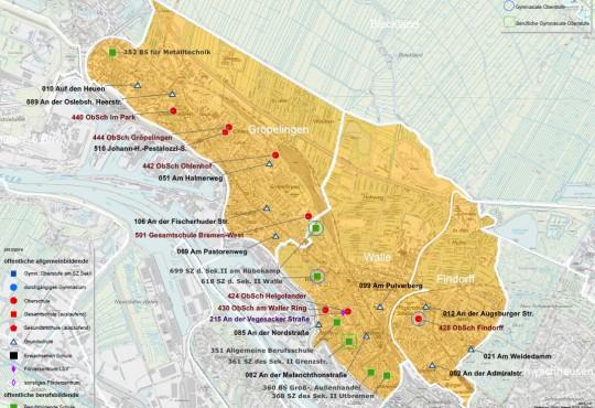 Schulen im Bremer Westen