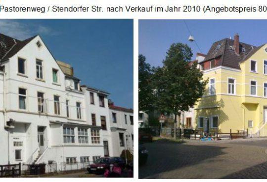 Eckhaus Pastorenweg / Stendorfer